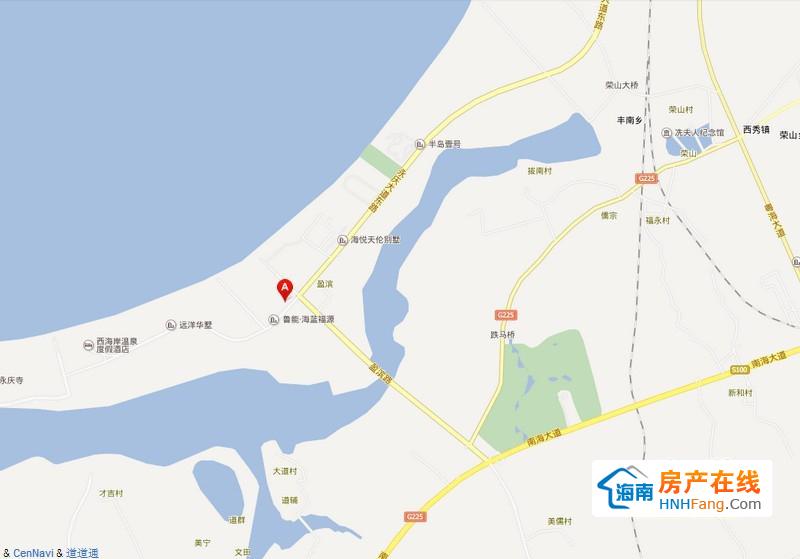 船长de海寓区位地图