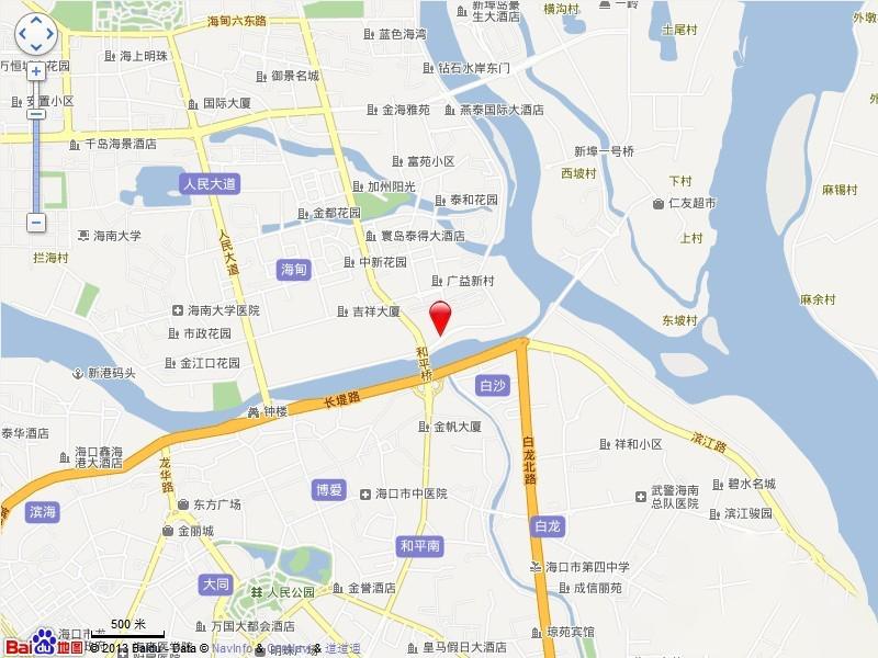 广物滨江海岸 电子地图