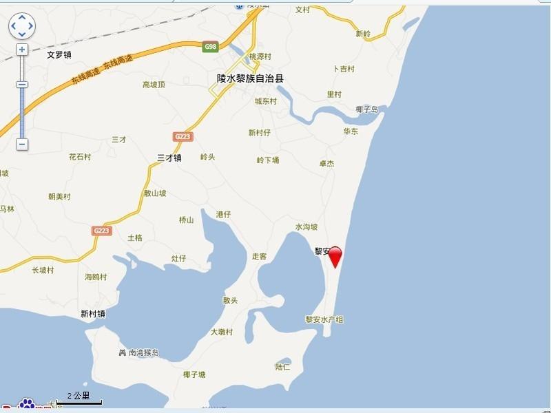合景·汀澜海岸电子地图