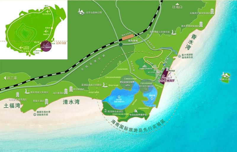 合景·汀澜海岸合景地图
