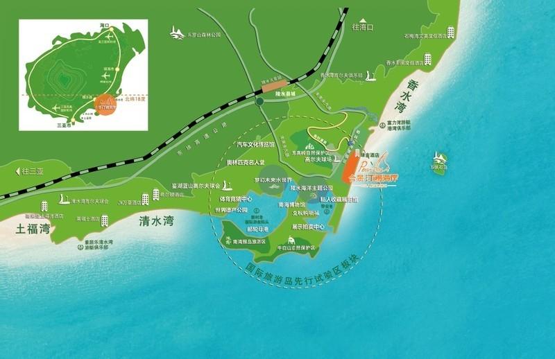 合景·汀澜海岸区位图