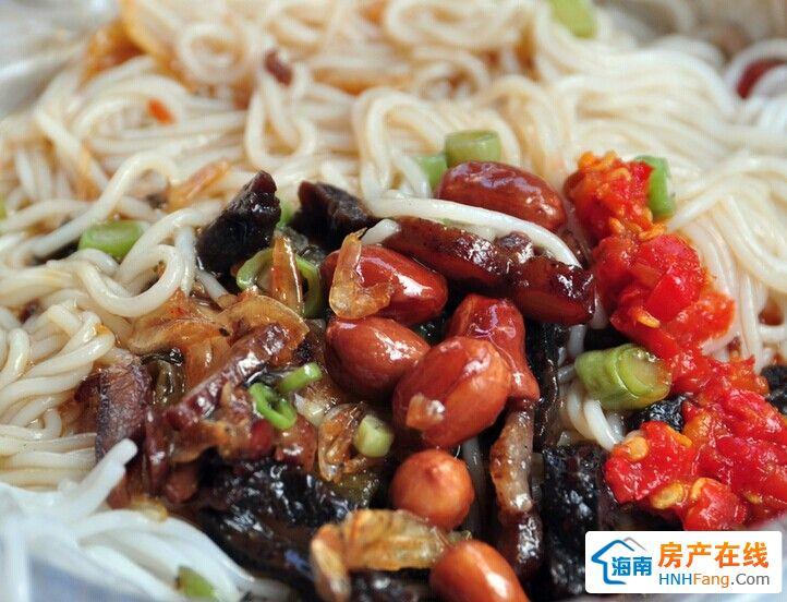海南特色小吃儋州长坡米烂