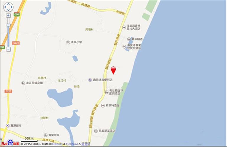 亚特兰蒂斯·棠岸交通图