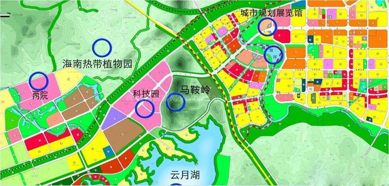 广物雅拉湖畔周边-城西规划
