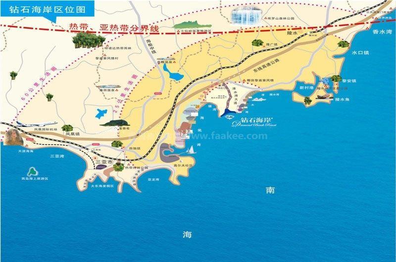 钻石海岸交通图