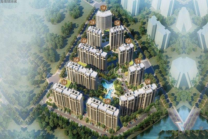 海南绿地城三期推出1号楼特价房源 优惠单价约7300-7500元/平