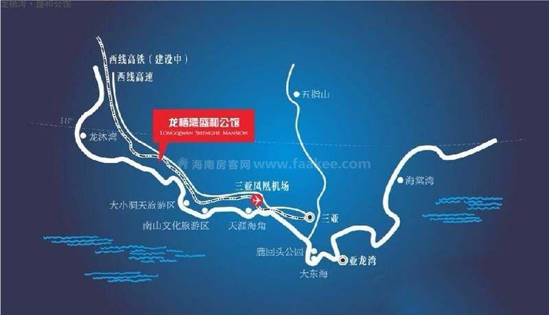 龙栖湾·盛和公馆交通图
