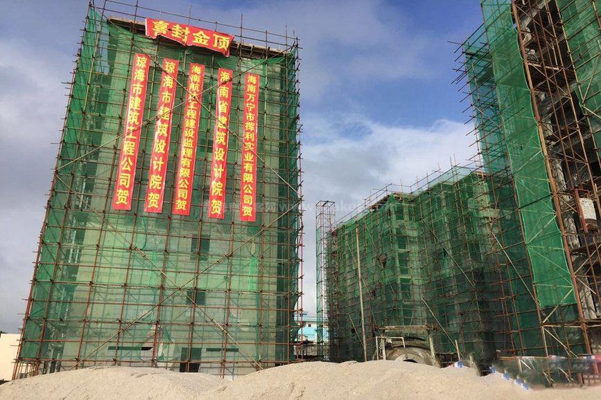 萬寧錦泰園工程實景圖