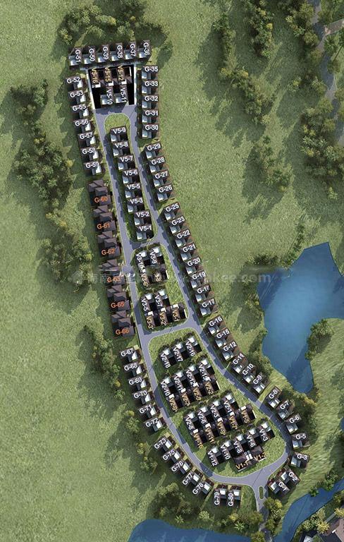 融创海棠湾规划图