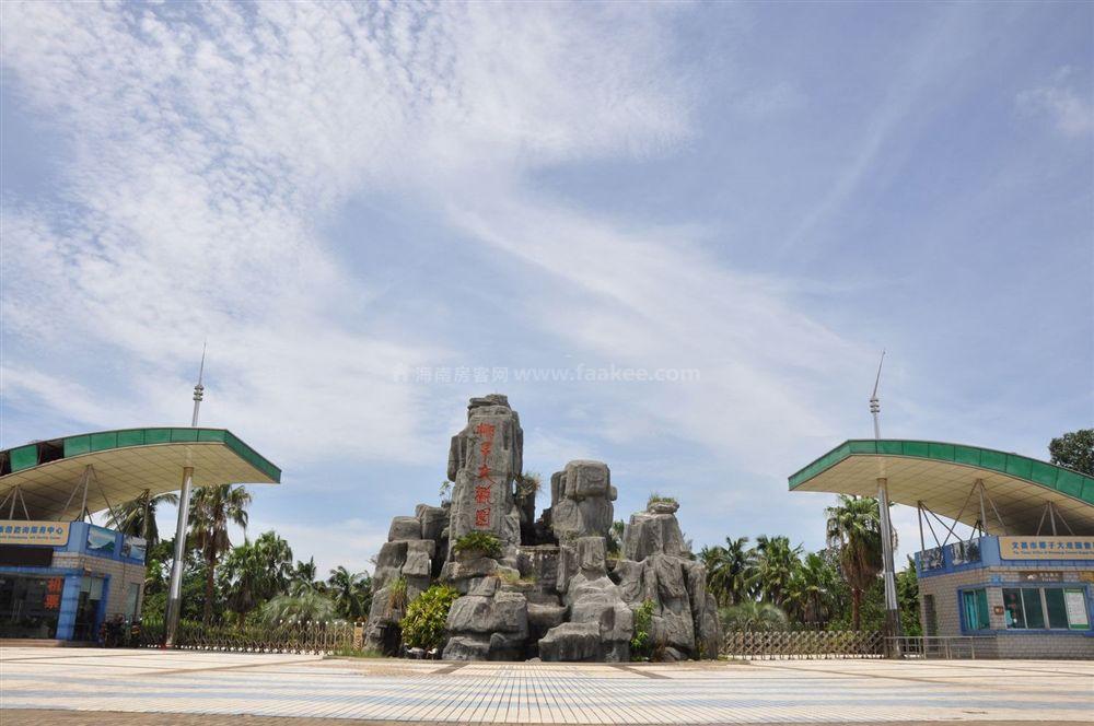 小区周边配套:椰子大观园
