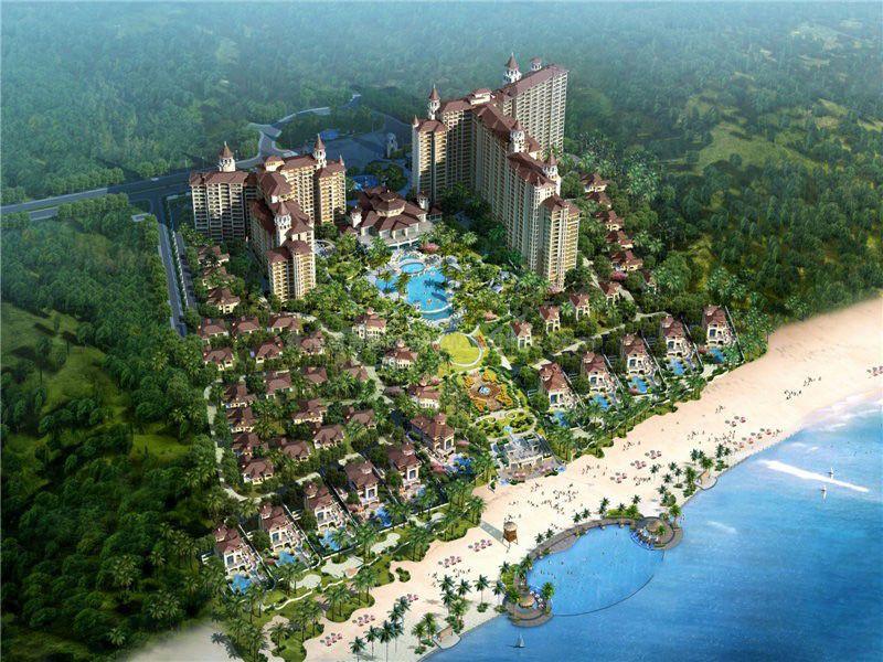 碧桂园珊瑚宫殿鸟瞰图