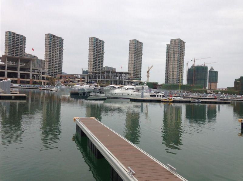 周边配套:游艇码头