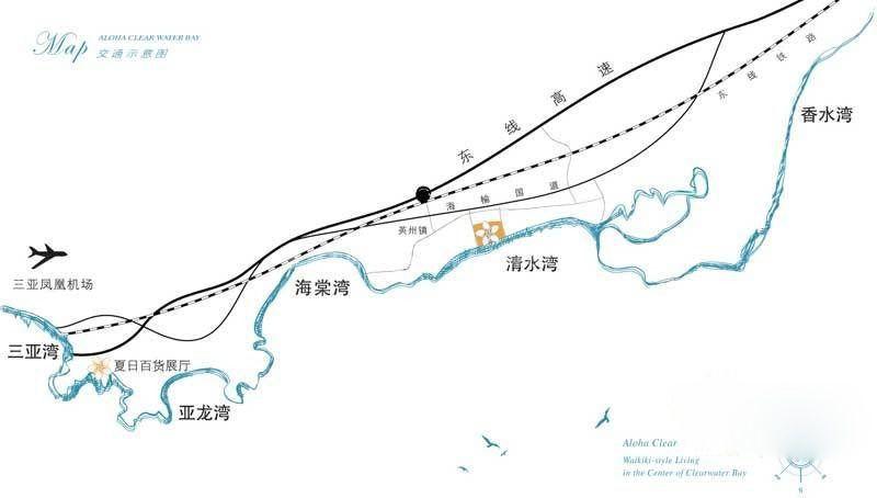 Aloha阿罗哈交通图