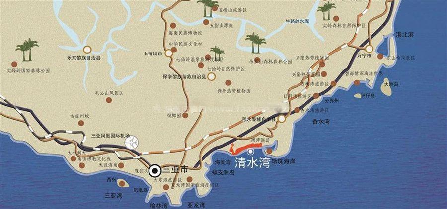 雅居乐清水湾交通图