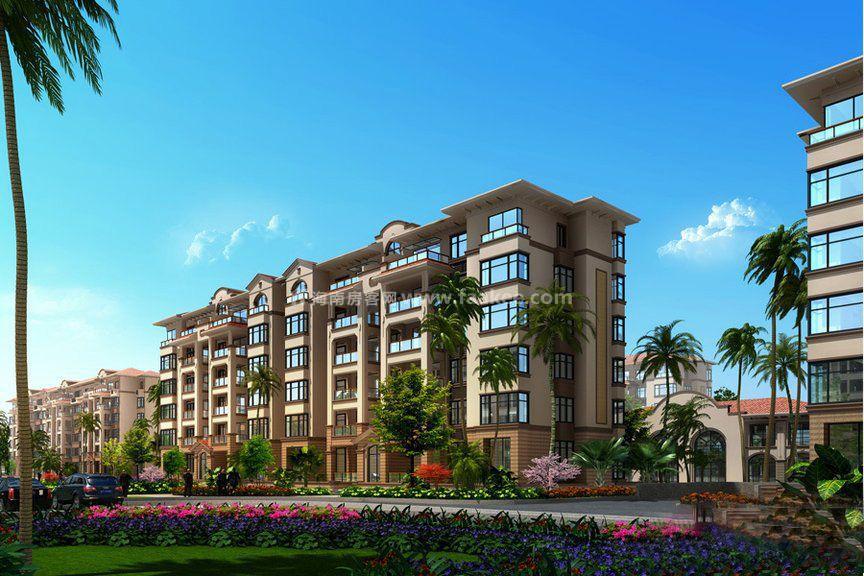 海口海南风兰和之心庭6层高花园洋房在售均价约18500卖别墅的璧怎么样涵湾图片