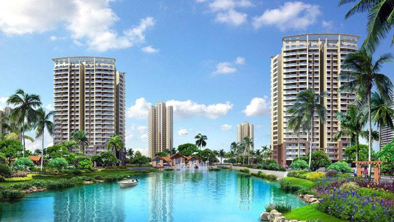 临高长岛蓝湾项目在售楼栋为4#、18#、31#(只有二层) 均价15000元/㎡