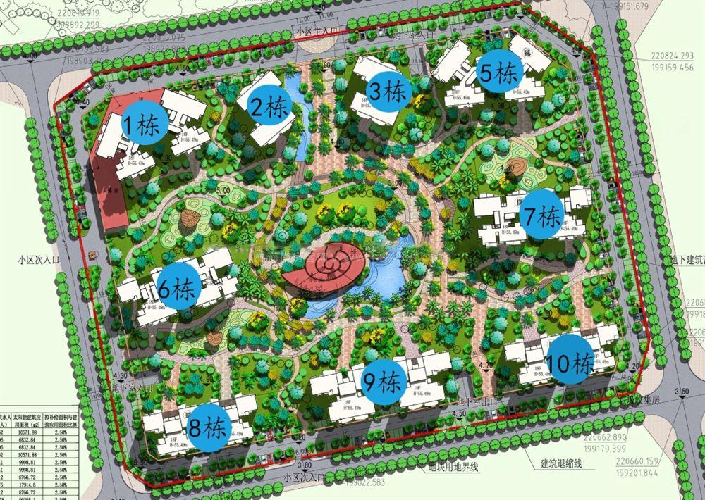 广物滨海国际二期君临湾平面图