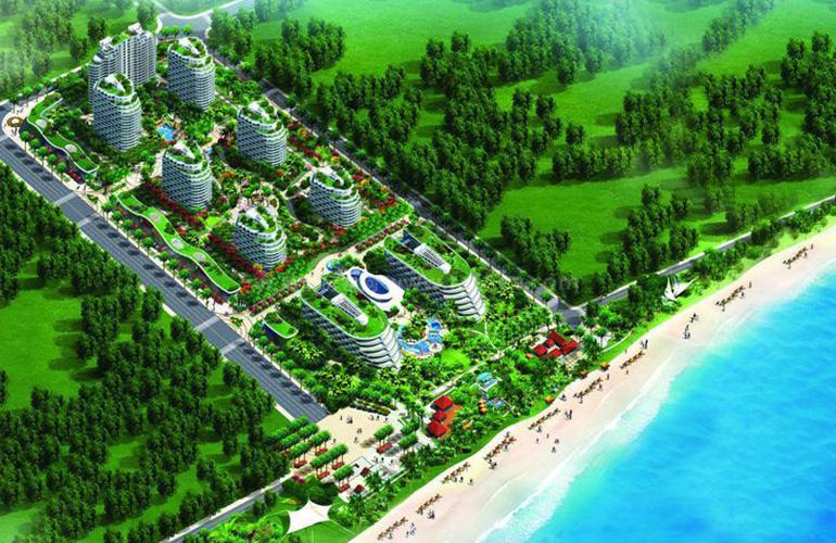 晋唐海湾鸟瞰图