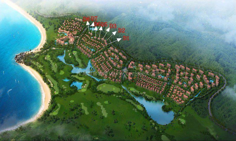 金泰南燕湾鸟瞰图