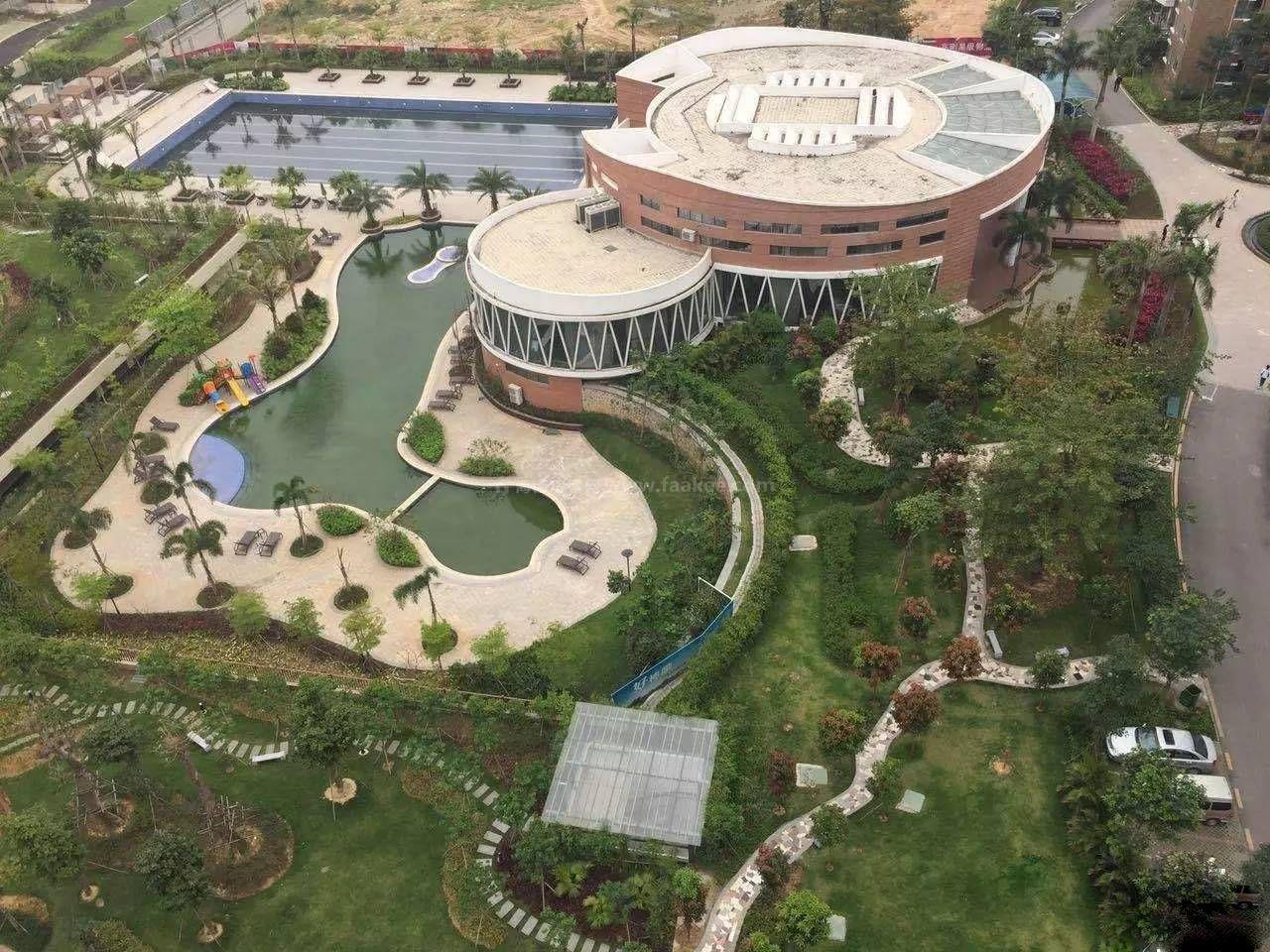 兆南熙园实景图