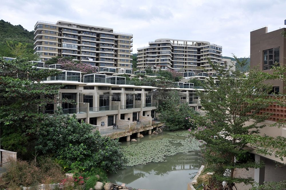 别墅区水系景观