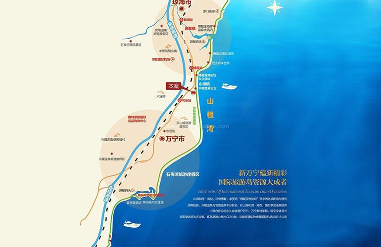 山海和湾交通图