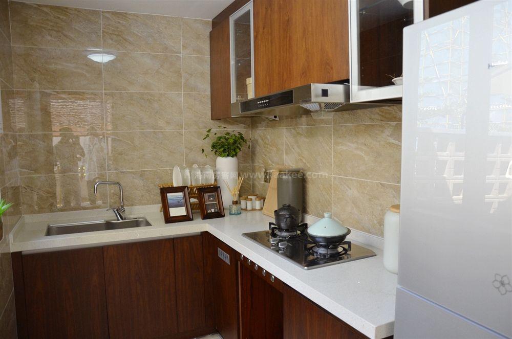 4期疊拼別墅A3戶型 2房2廳2衛1廚 69㎡樣板間:廚房