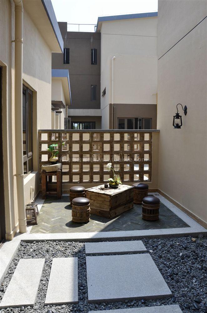 4期疊拼別墅A3戶型 2房2廳2衛1廚 69㎡樣板間:陽臺