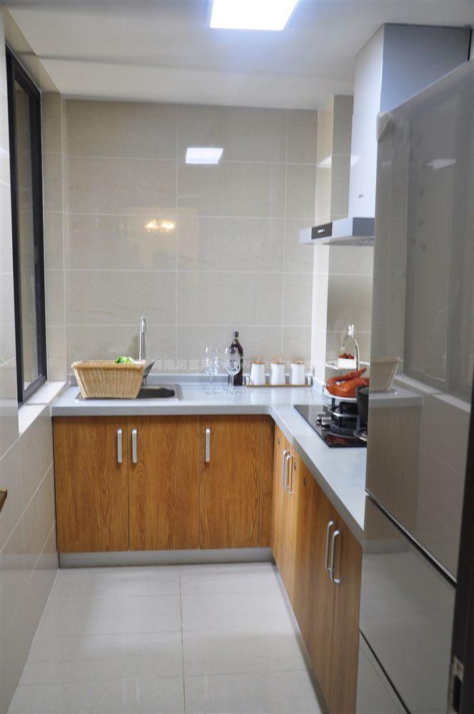 三期A戶型 1房2廳1衛1廚 56.7㎡ 樣板間:廚房