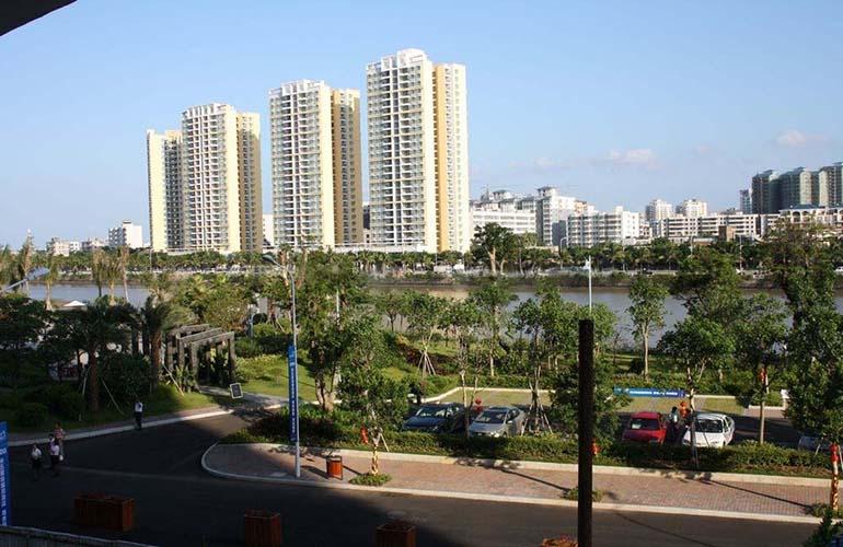 广物滨江海岸实景图