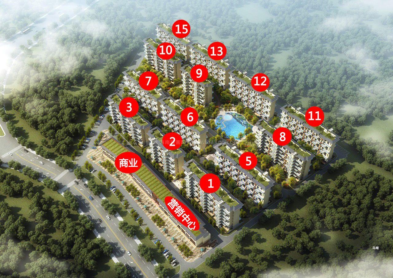 官塘首府鸟瞰图