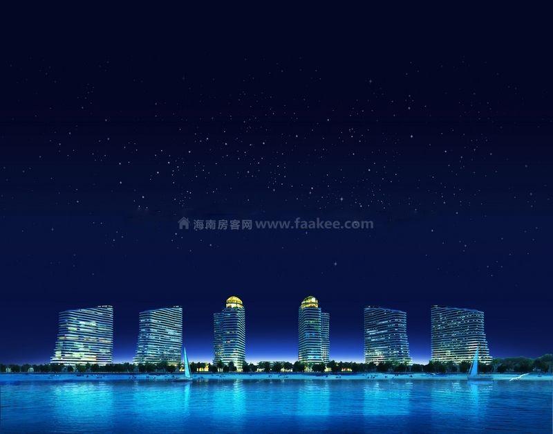 博鳌亚洲湾 效果图