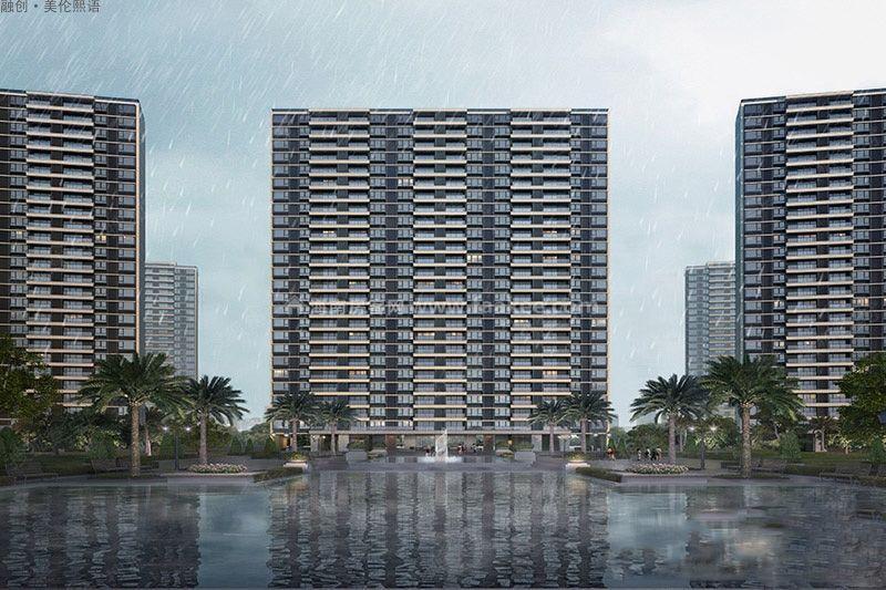 澄迈融创美伦熙语项目计划本月推出22# 二至三房户型