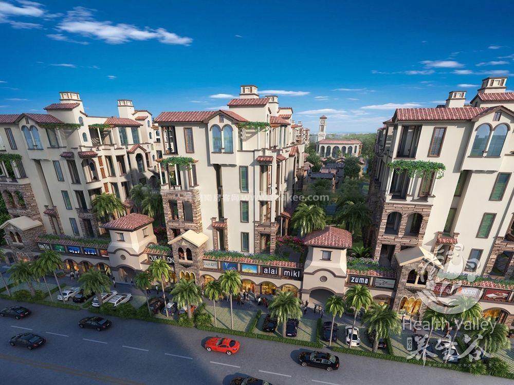 定安爱克养生谷项目推出限量房源一口价在售  单价9188-9600元/平