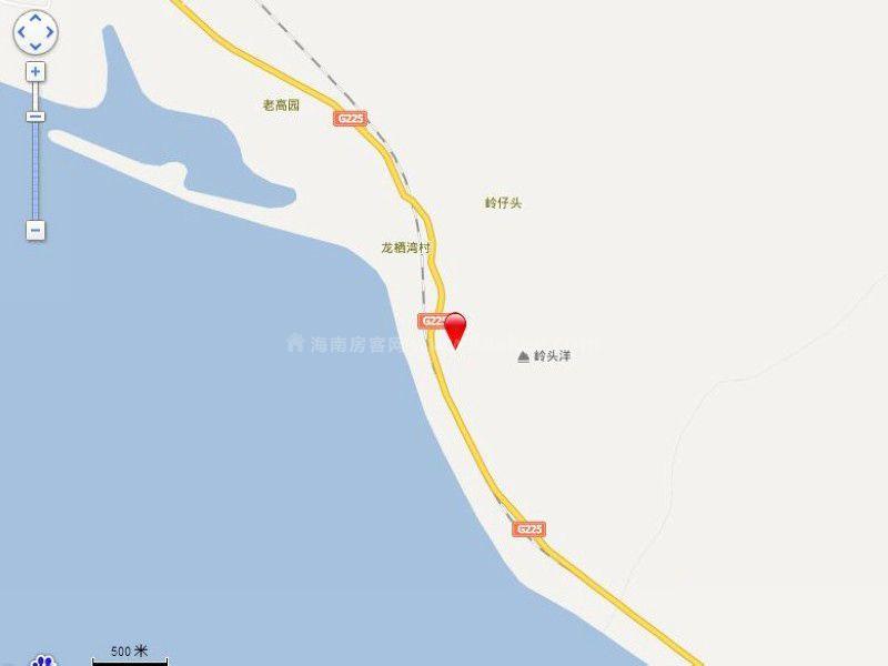 龙栖湾·波波利海岸交通图