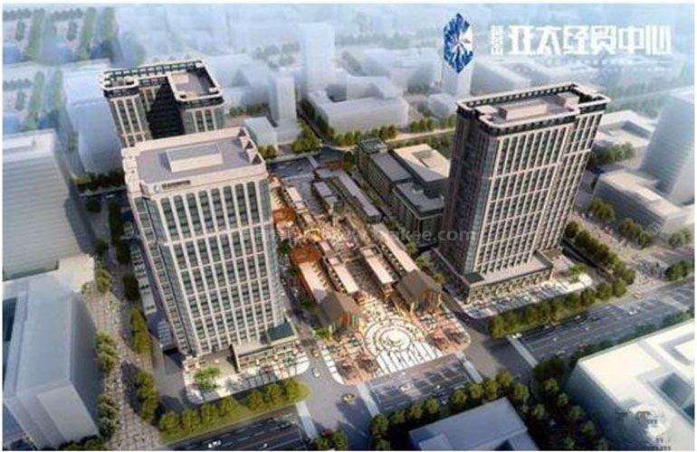 荟金亚太经贸中心鸟瞰图