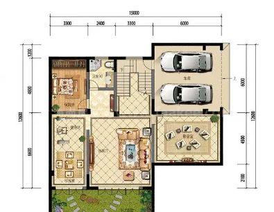 B户型 3室2厅2卫1厨  建筑面积约180.00平米
