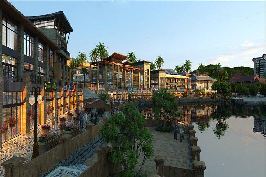 傣族风情商业小镇