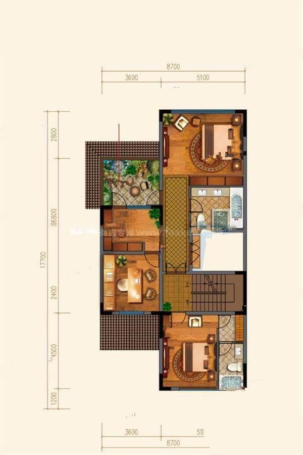 B42户型 5室4厅6卫