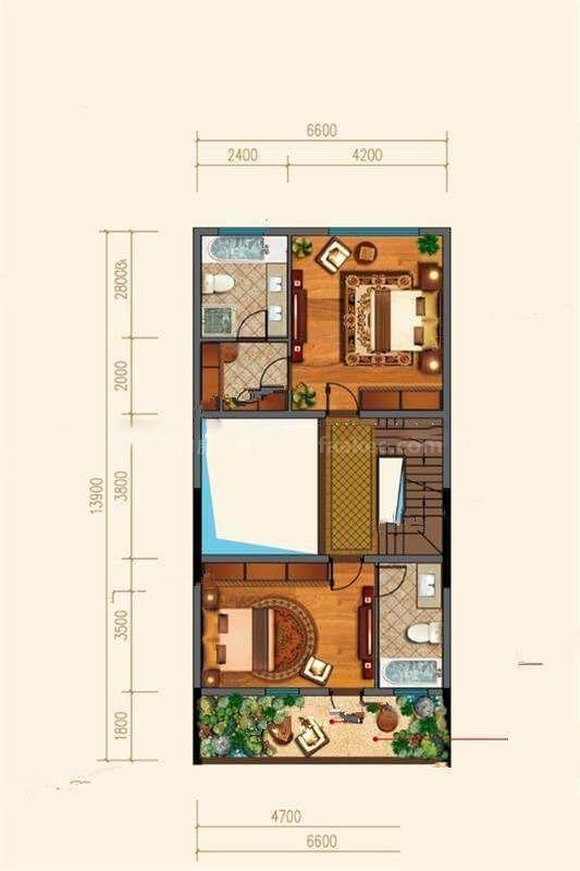 D84户型 3室3厅4卫