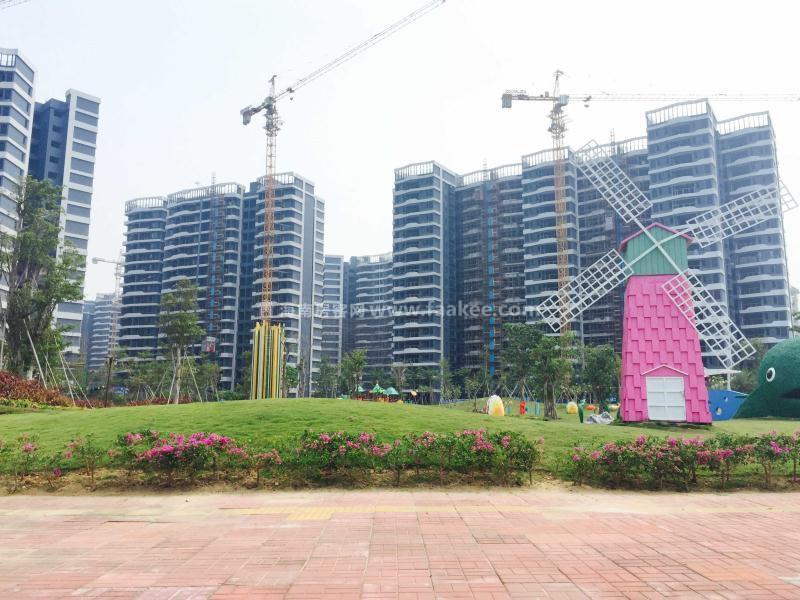 碧桂园滨海国际实景图
