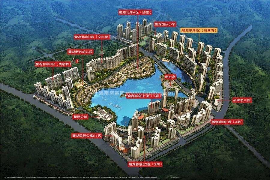 桂林花样年麓湖国际社区【翡翠湾】,2号楼在售均价约6000元/㎡