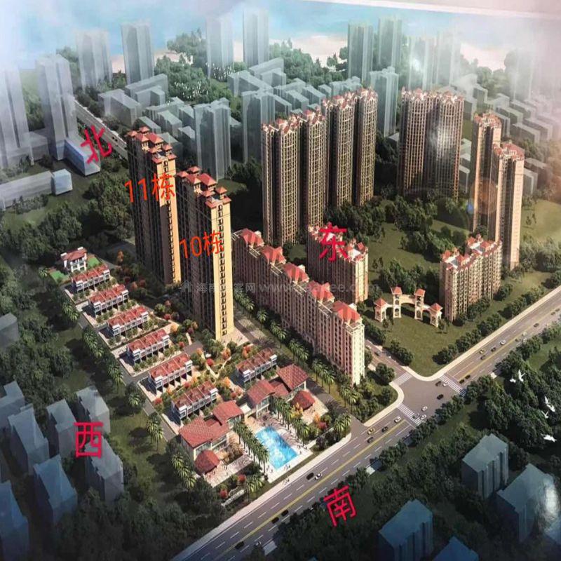 北海明珠一线海景公寓、别墅在售,公寓44.8万/套起