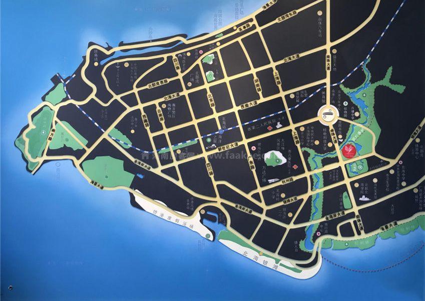 锦江白鹫郡区位图