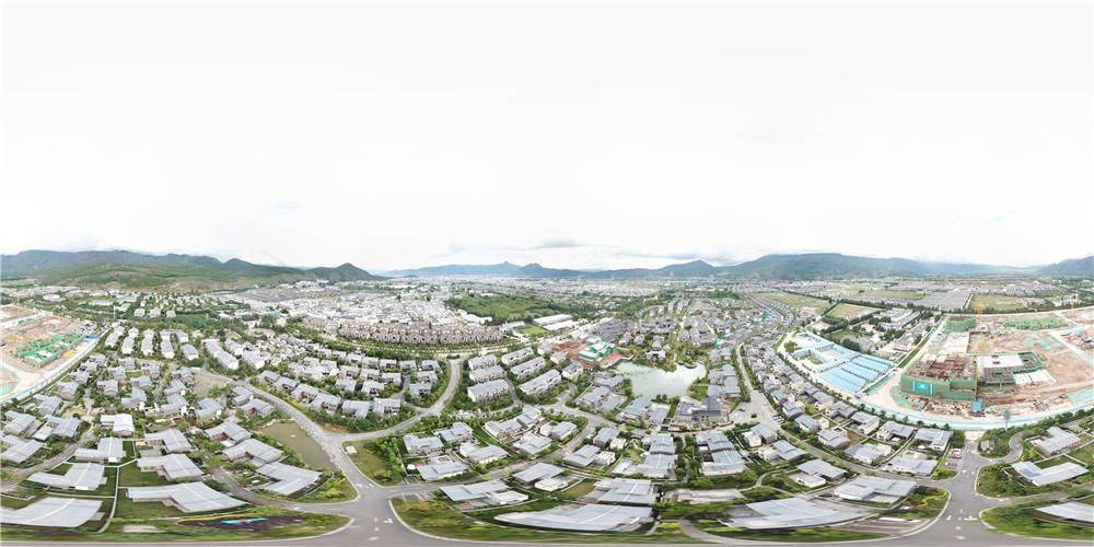 金茂谷镇全景图