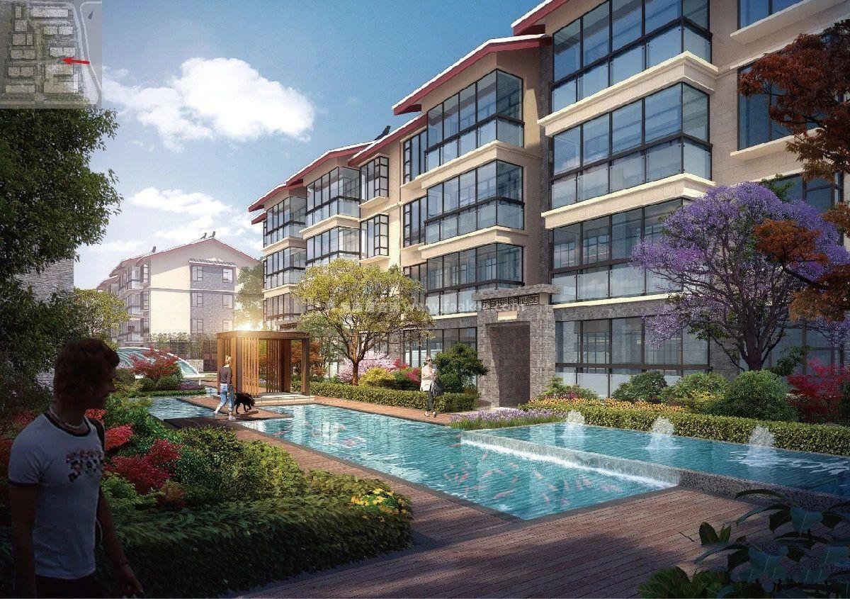 丽江中铁绿景家园:户型面积60-71㎡住宅在售,均价28000元/㎡