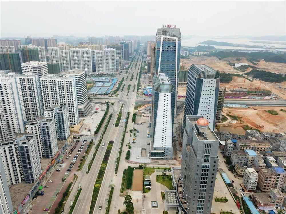 碧桂园滨海城实景图