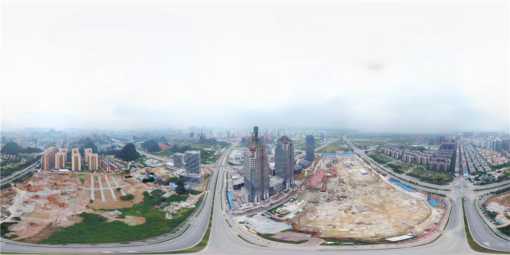 吾悦广场航拍全景图
