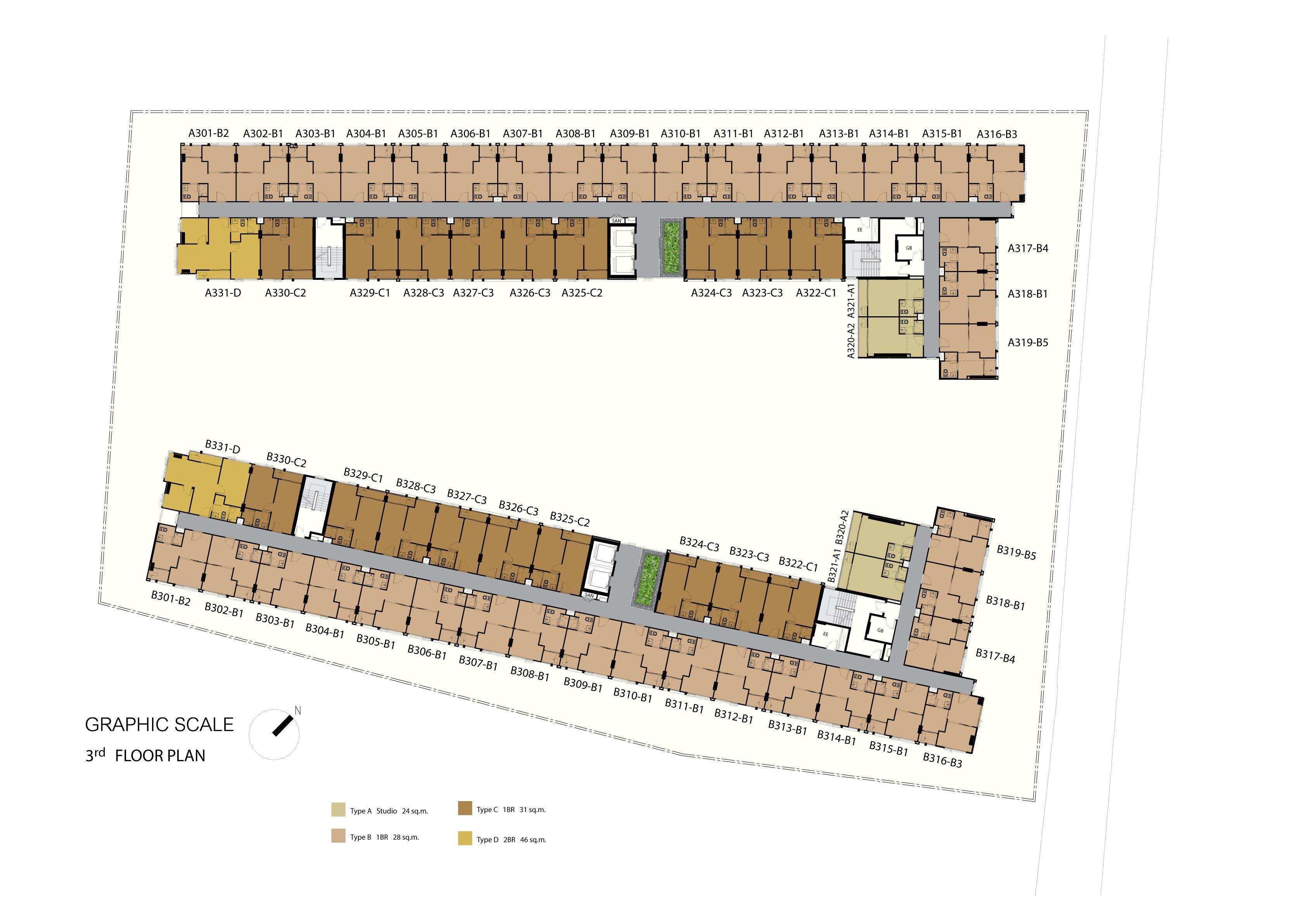 楼层规划图