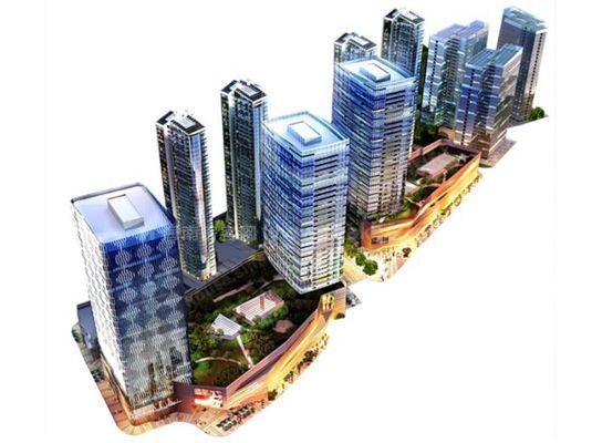 绿地中央广场买买公寓